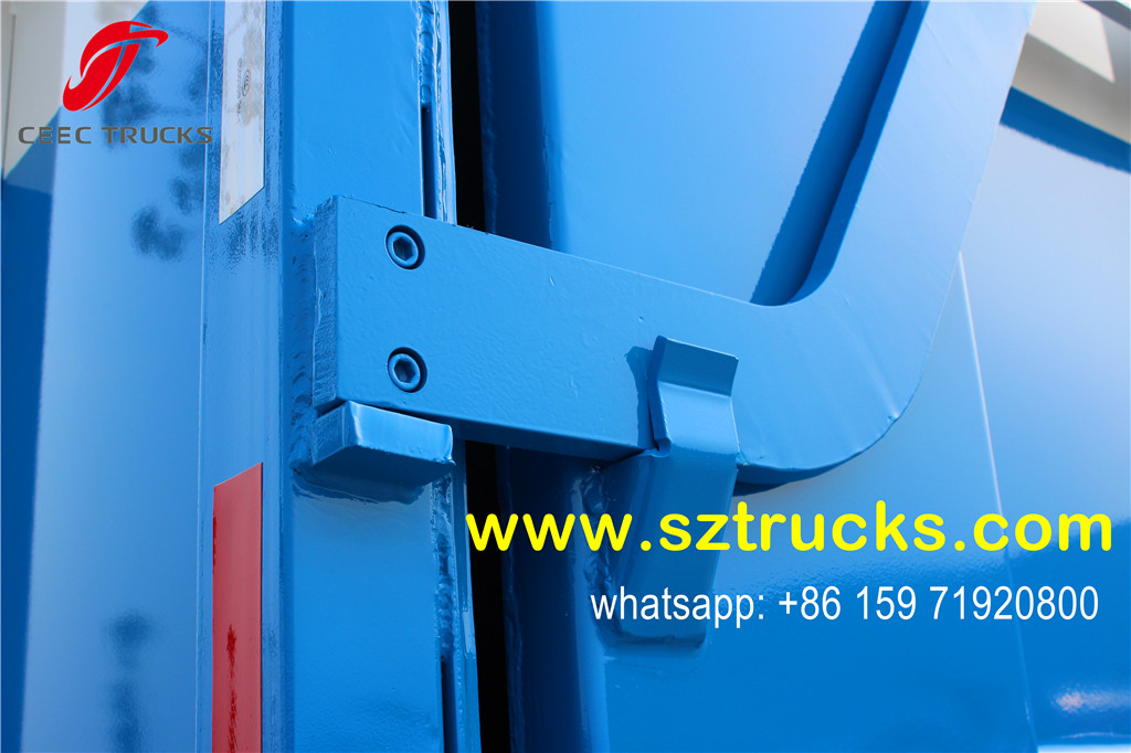 Hydraulic lifting locking system