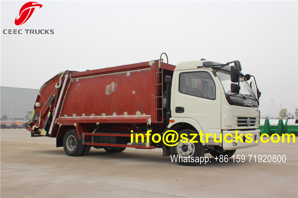 2016 produced 6CBM trash compressor truck