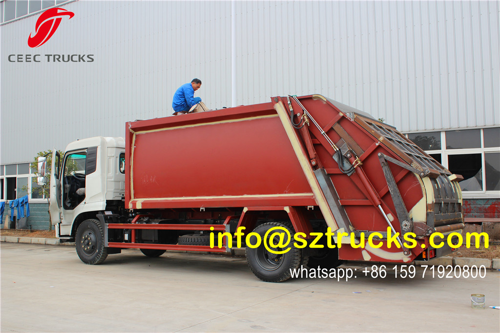14CBM refuse compression trucks