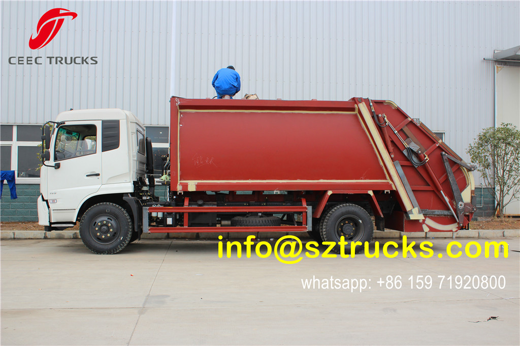 2016 produced 14000L garbage compactor truck
