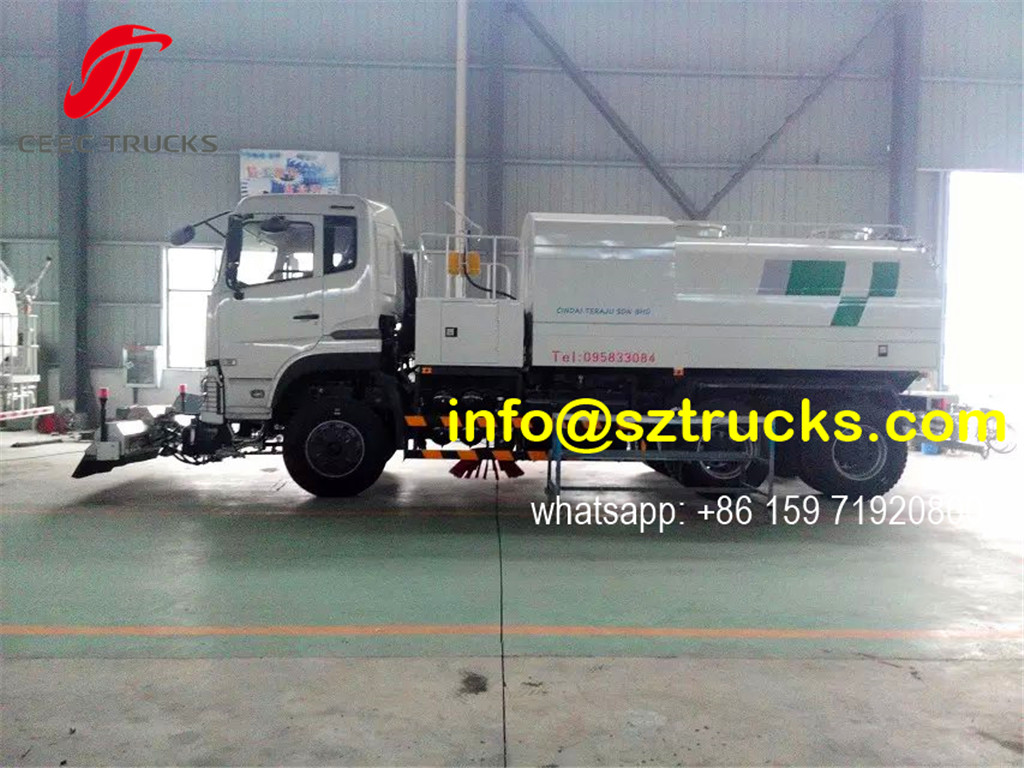 RHD multi-function high pressure jetting truck