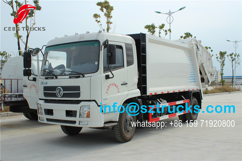 12000liter refuse compression truck