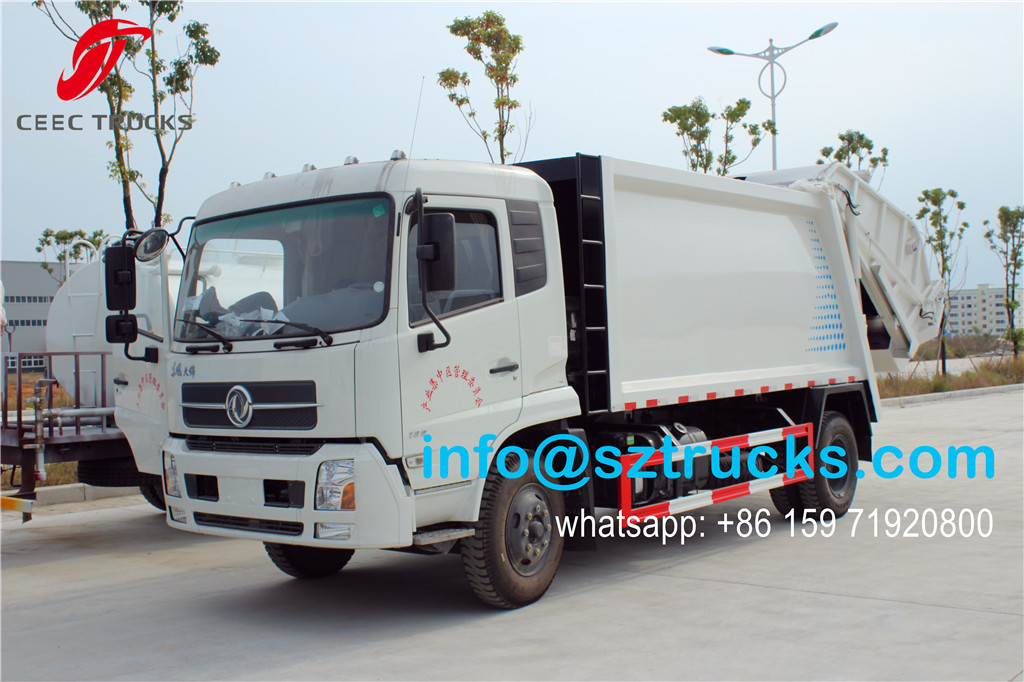 12CBM trash compressor truck wholesale