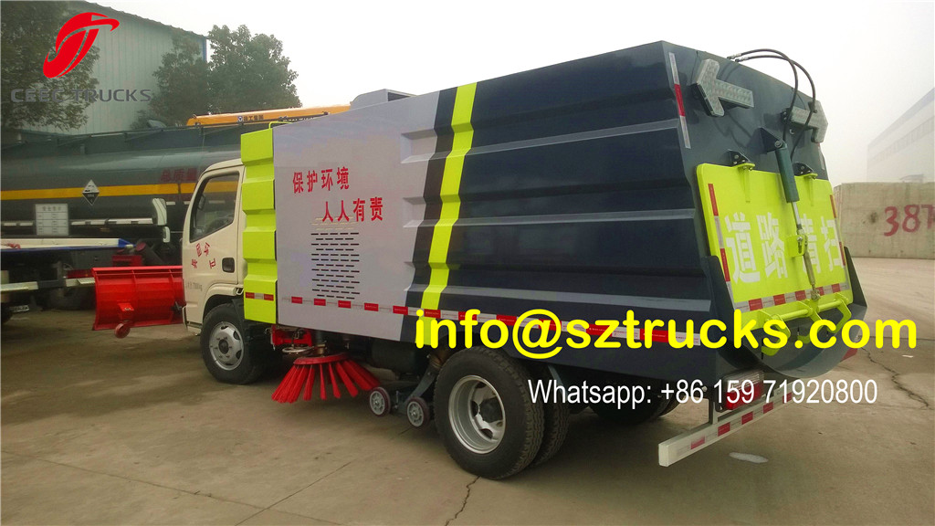 3CBM Road Sweeper Truck for Snow Cleaning