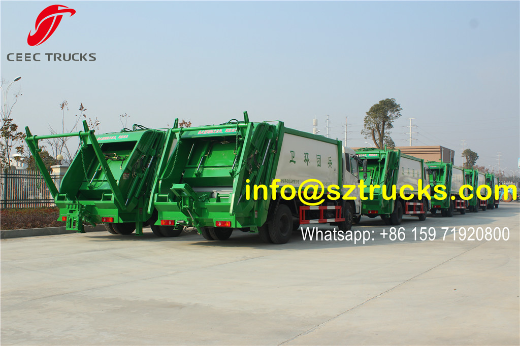 Dongfeng 12-14CBM garbage compactor truck