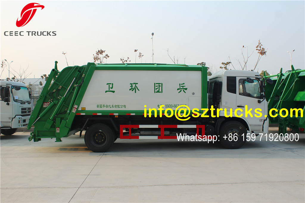dongfeng 12-14cbm refuse compression truck