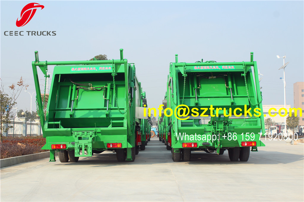 12CBM refuse compression truck