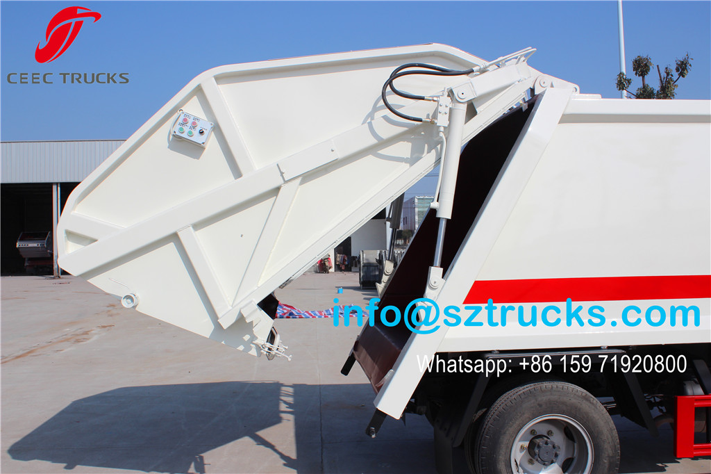 4CBM DFAC mini Refuse Compression Truck