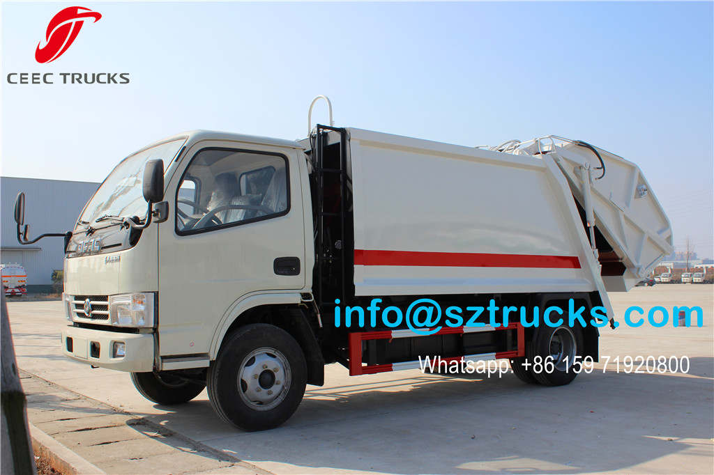 4000liters refuse compressor truck wholesale