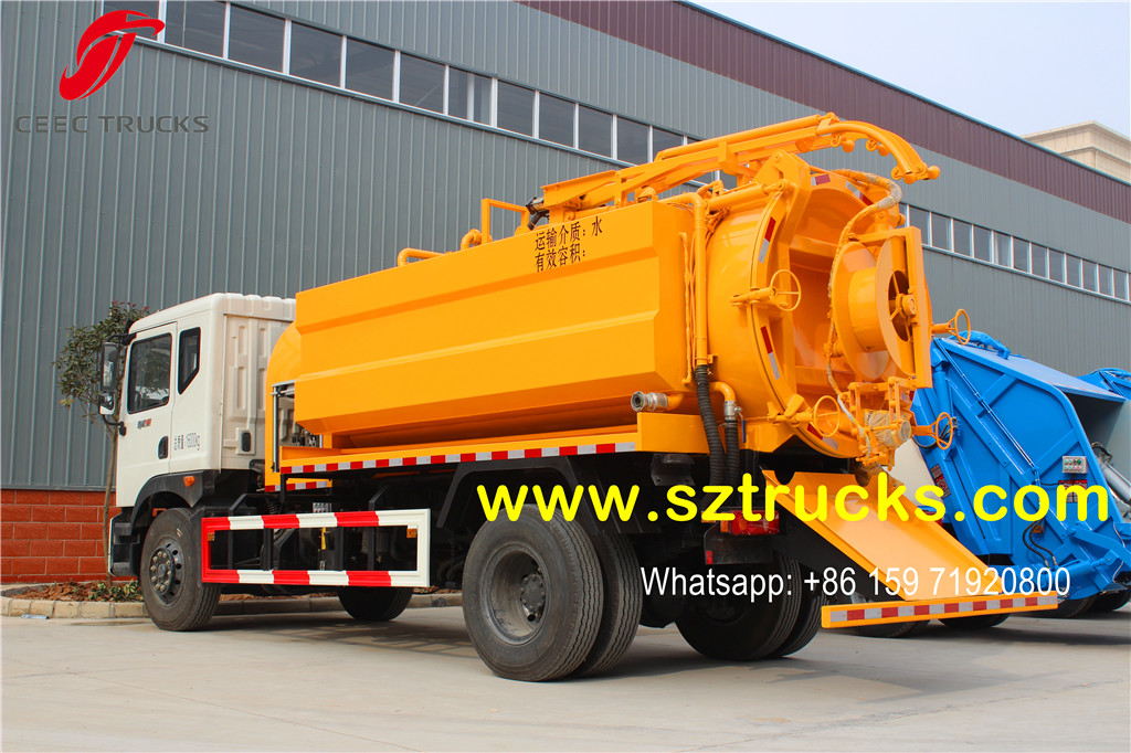 2016 produced combined jetting truck as sample truck