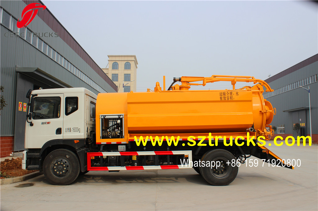 2016 produced combined jetting truck