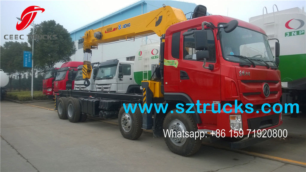 XCMG SQS500 model 20T truck mounted crane