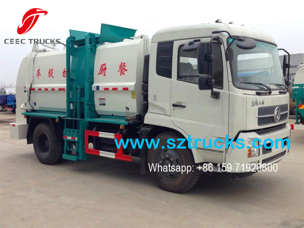 Dongfeng kitchen waste collection truck