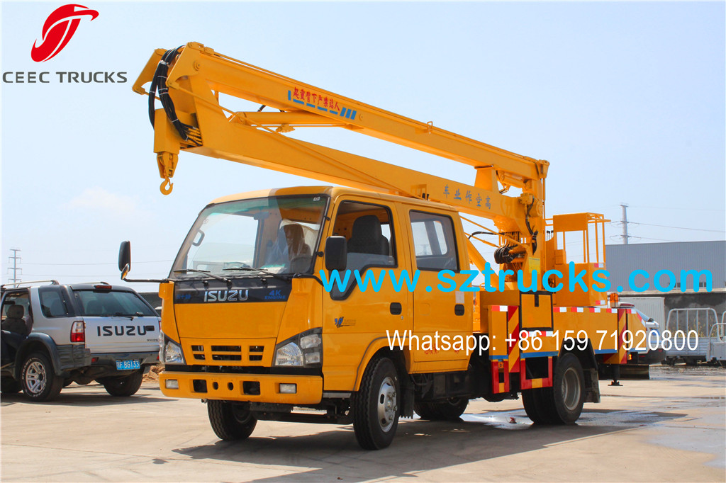 2016 new produced Aerial Platform Truck Bottom price