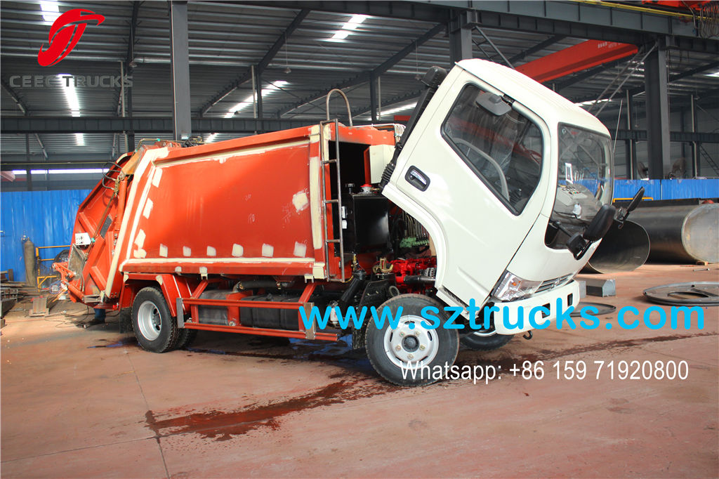 4000liters refuse compressor truck sale