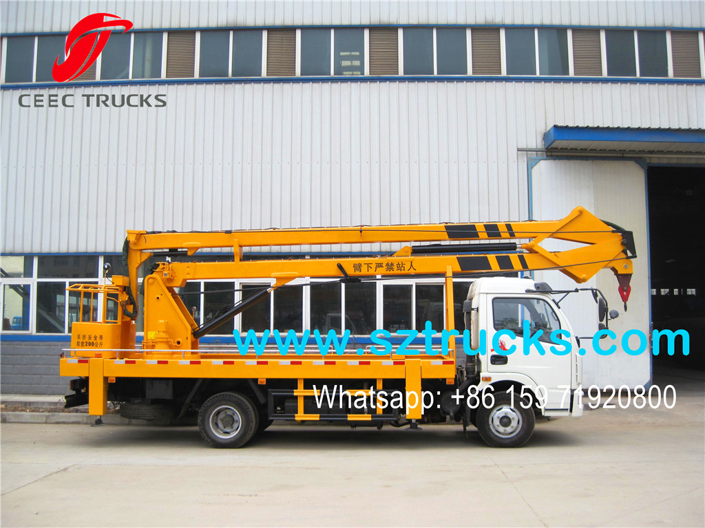 14m Bucket lifting truck