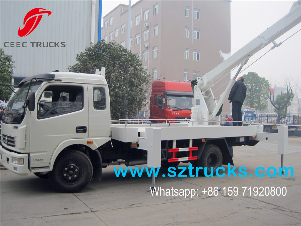 17m high platform working truck for sale
