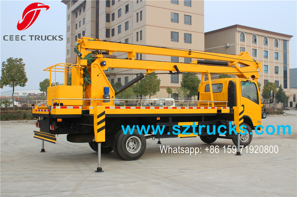 ISUZU 18m Aerial Working Platform Export