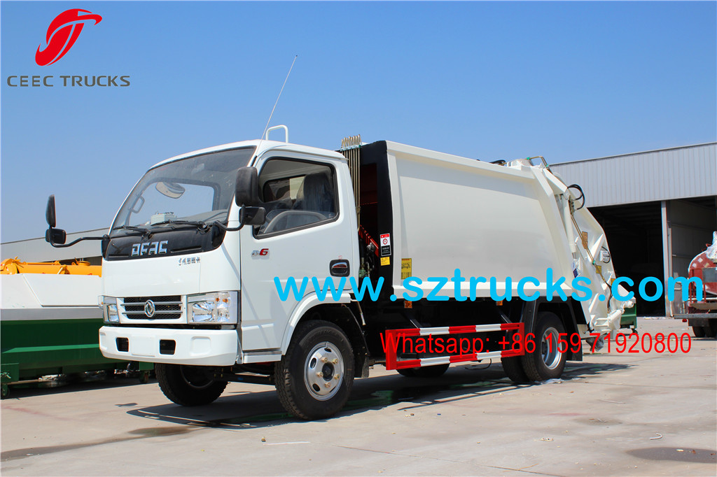 Lowest price sale 4000Liters Compression Refuse Truck