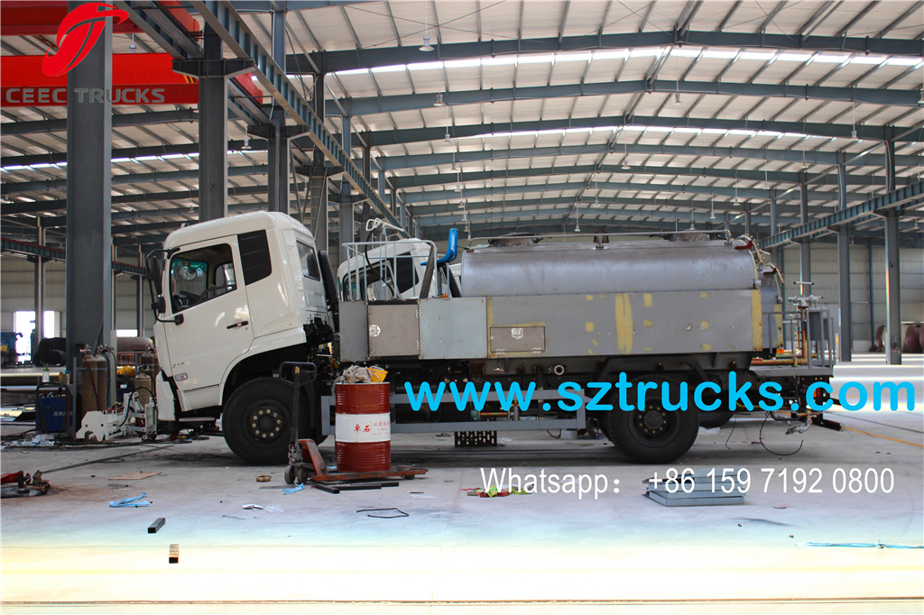 8000L High pressure jetting truck export to DRC Congo