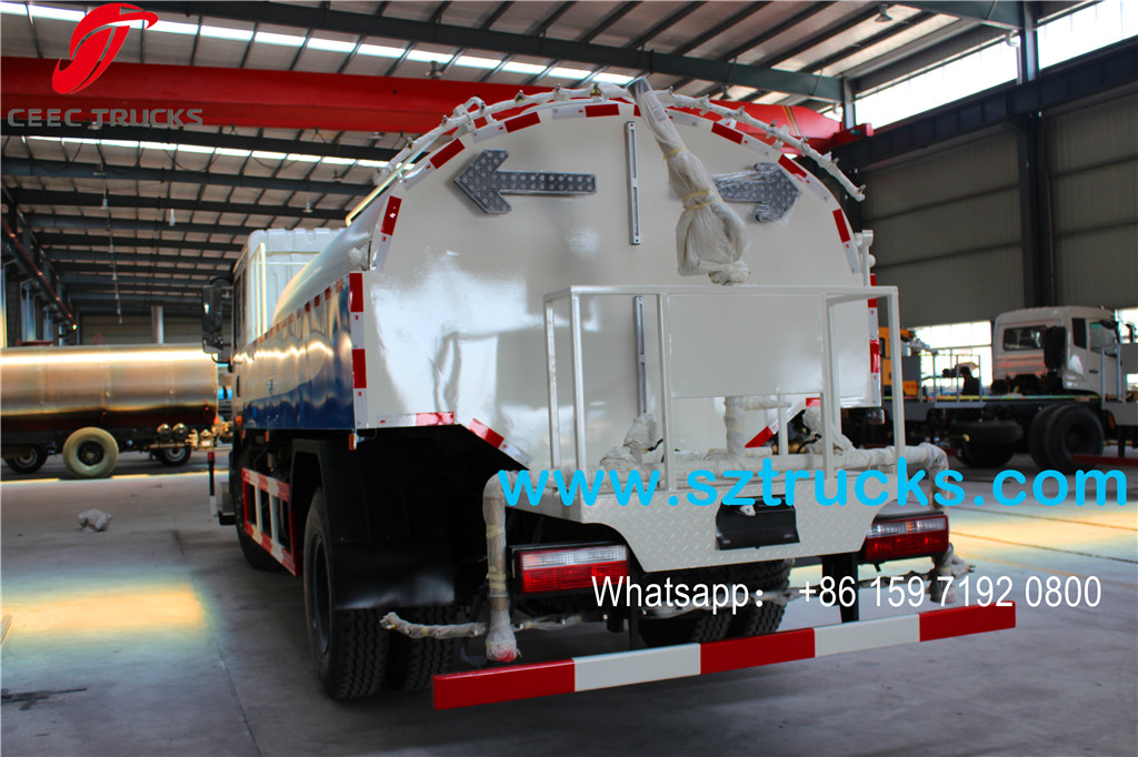 8000L High pressure jetting truck rear spraying device