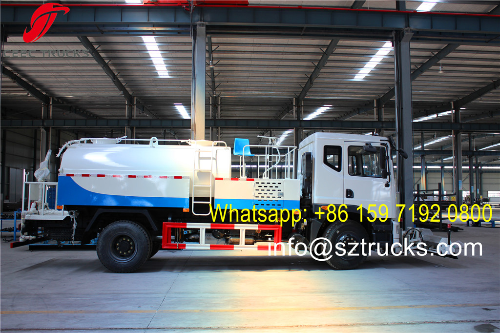 Shipping DRC Congo 8CBM high pressure jetting truck