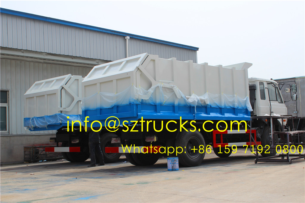 10CBM docking garbage truck