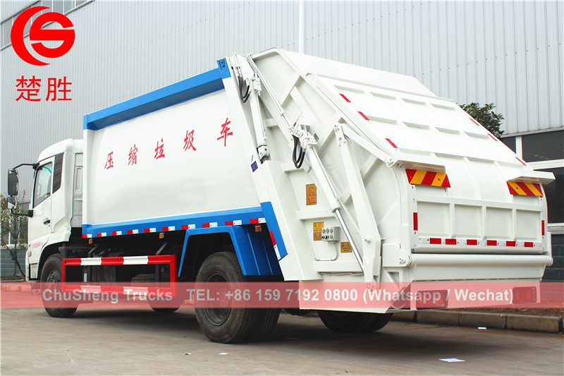DONGFENG 14cbm garbage compactor truck manufacturer
