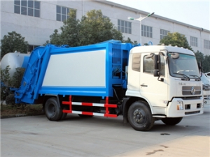 16CBM refuse compression vehicle cummins engine garbage collection equipment