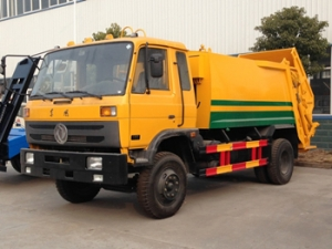 10CBM garbage compactor vehicles with most best performance and good quality