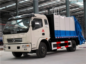 8000Liters refuse compression trucks factory directly sale cheap price and good quality