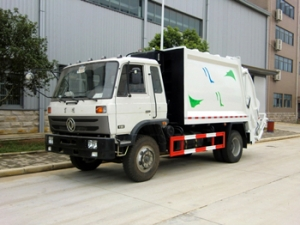 13CBM refuse compression truck best rubbish compacting equipment for government project