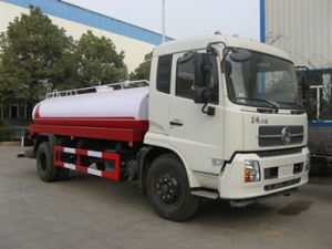 12-15CBM multifunctional water tanker trucks