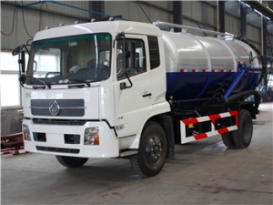 10-14CBM Cesspit Emptier truck cheap price hot sale