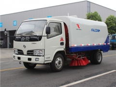 best 3CBM road sweeper truck with 2015 newly design method