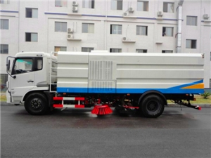 10CBM road sweeper truck wholesale street sweeping vehicle export