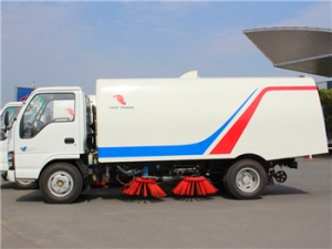 best 5000L road sweeper truck with high-tech method