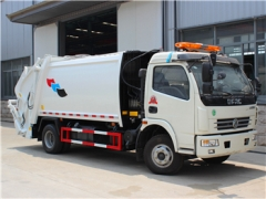 7CBM Garbage Compactor Truck refuse compression garbage trucks hot sale