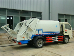 best 6CBM Refuse Compression Truck use high-technology production method