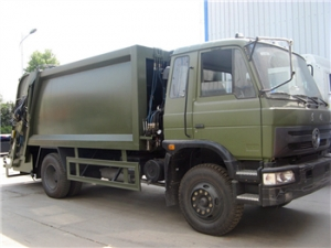 best 10CBM Garbage Compactor Truck for military project