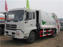 12CBM high quality garbage compactor truck with ISO certificate