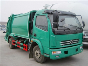 5CBM Refuse Compactor Truck special design for export