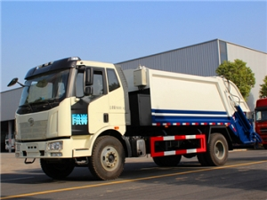 8-12CBM FAW waste management equipment special design for export