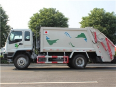 8CBM Garbage Compactor Truck with ISUZU engine hot sale