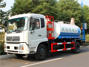 2500gallon Water Sprinkler tanker Trucks with multiple function