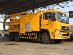 best 7+5CBM Combined Suction Jetting Truck for hot sale