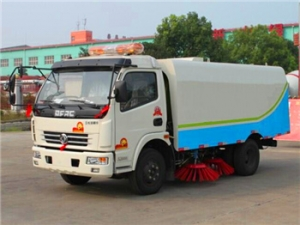 Best 6000Liters used road sweeping cleaner truck for export