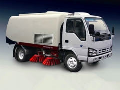 used best 5CBM street sweeping truck for wholesale