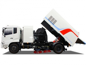 best 8000Liters road sweeper truck for hot sale low price