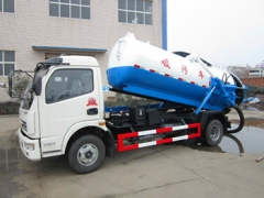 Best after-sale service 4000Liters cesspit emptier truck hot sale